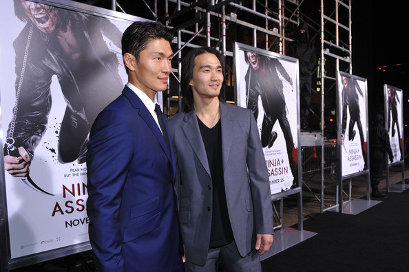 Karl Yune and Rick Yune: Red Carpet