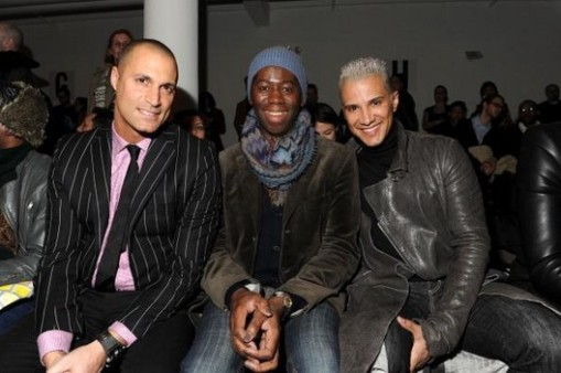 The Blonds - Front Row - Fall 2012 Mercedes-Benz Fashion Week