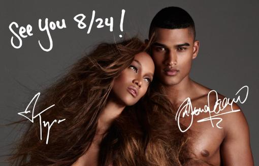 Tyra Banks & Rob Evans - ANTM season 19 Photo Promotional 1
